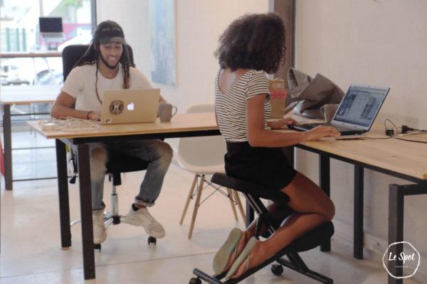 Le Spot coworking space à Jarry, Location bureau partagé et espace de travail collaboratif
