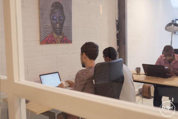 Le Spot Coworking space, Location bureau partagé et espace de travail collaboratif